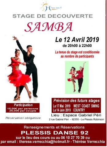 Flyer samba 3