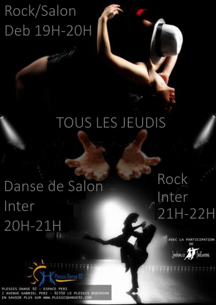Plessis danse 92 for Cours de danse de salon 92
